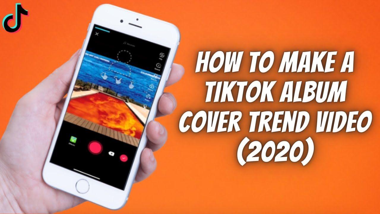 How To Make A Tiktok Album Cover Trend Video 2020 Album Covers Album Cover