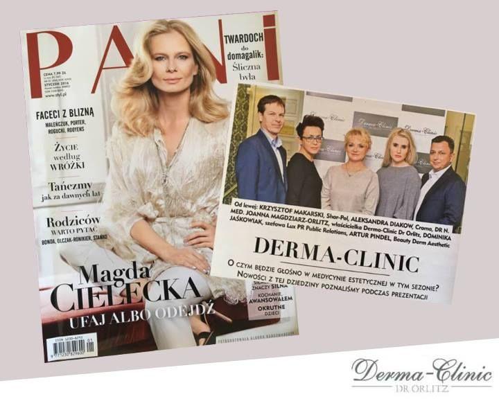 Magazyn PANI wspomina o naszej niedawnej konferencji i nowościach w naszych gabinetach :) Serdecznie polecamy i dziękujemy!