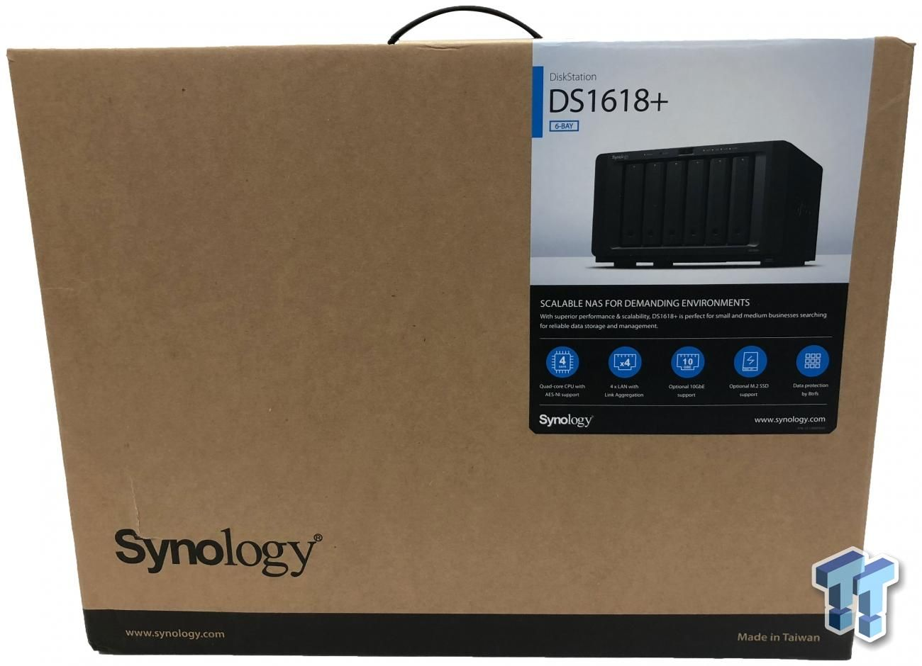 Synology DS1618+ SixBay NAS Review Tech