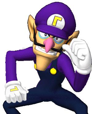 File Waluigi1 Captainselect Mss Png Game Character Super Mario Super Mario Bros