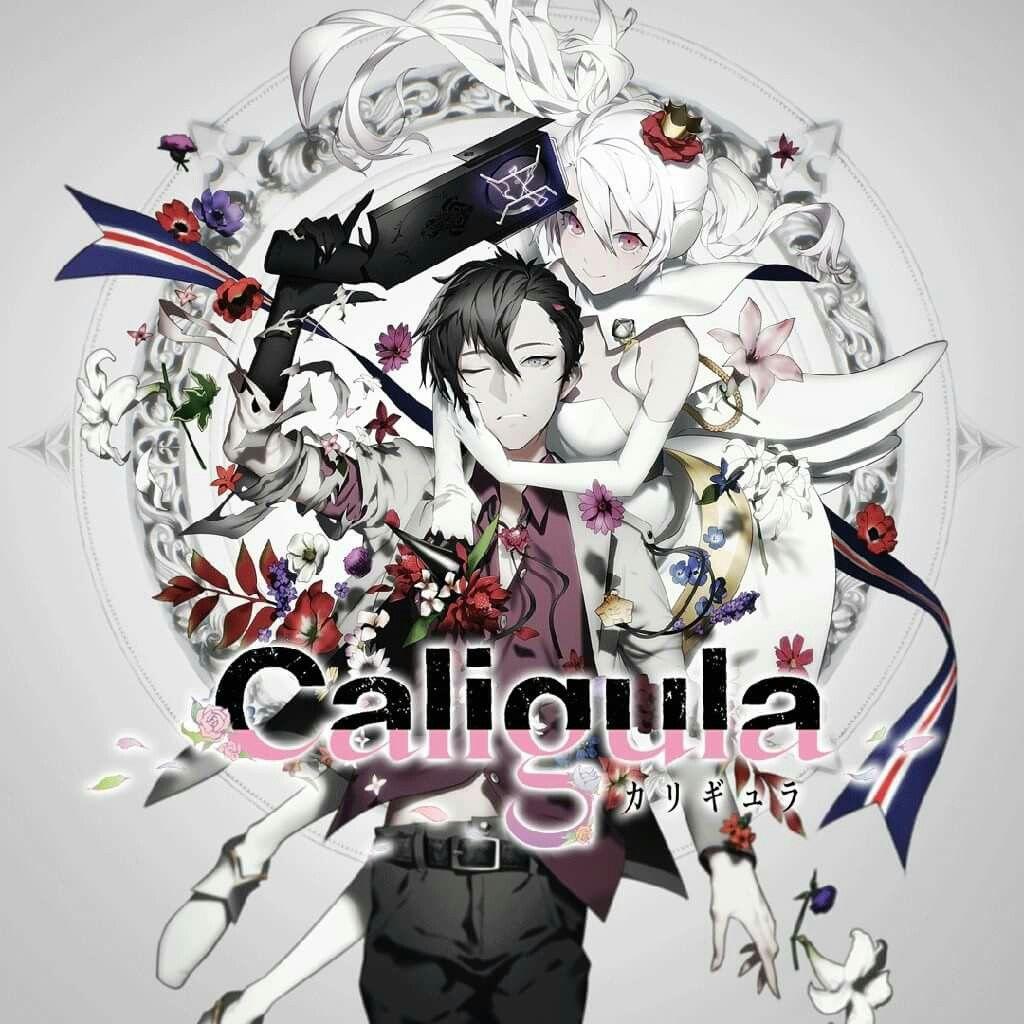 Anime Caligula ( my favprite anime of 2018 ) キャラクター 絵