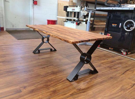 15 Or 18 X Shaped Steel Table Legs Metal By Mooseheadmetals