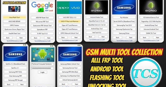 Gsm Multi Tool Collection 2018 Free Download Teknoloji