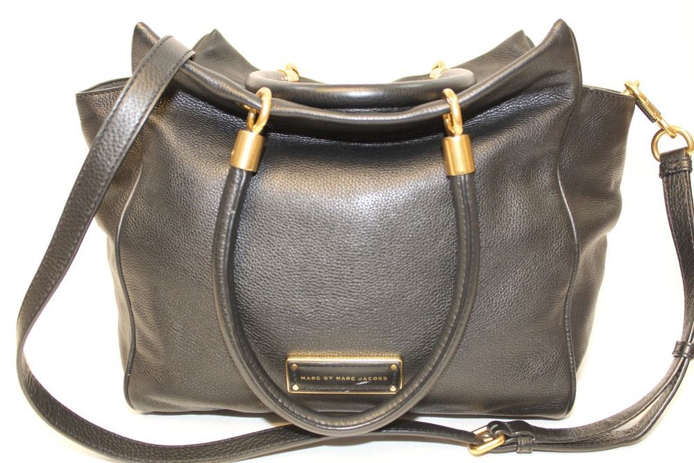 27fa770060 Marc Jacobs Too Hot To Handle Bentley Black Butter Leather Tote Shoulder Bag  seh #fashion #clothing #shoes #accessories #womensbagshandbags ...