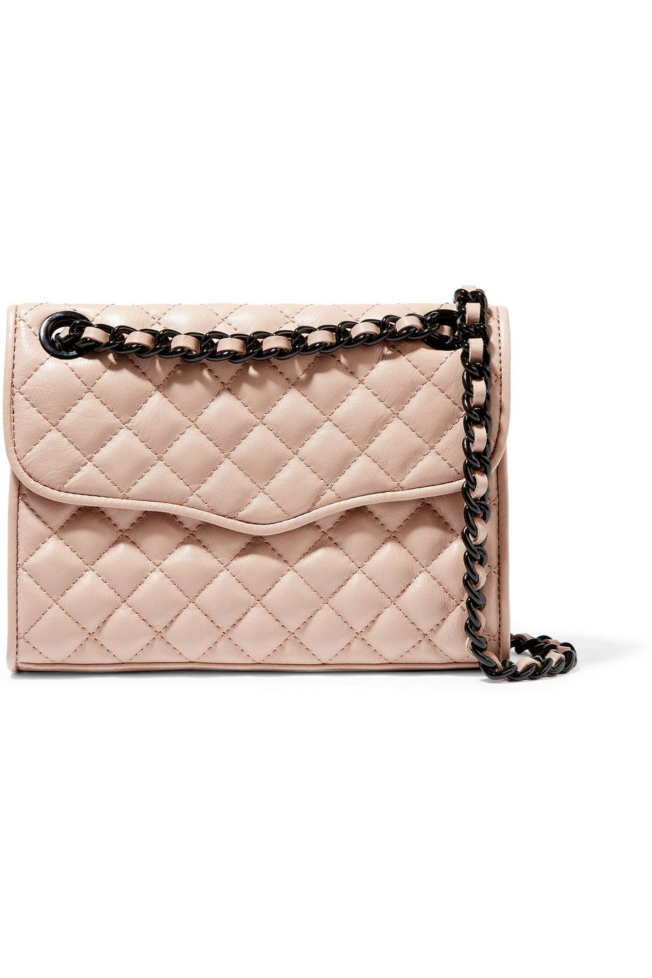 REBECCA MINKOFF Mini Affair Quilted Leather Shoulder Bag. #rebeccaminkoff #bags #shoulder bags #leather