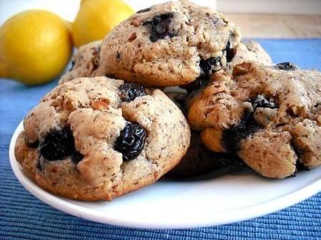 Almond Blueberry Cookies Diabetic