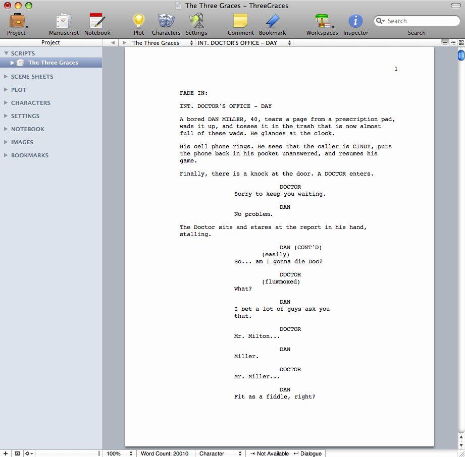 Microsoft Word Screenplay Template Fresh Storyist Software For Macintosh Story Development Software Screenplay Template Business Template Templates