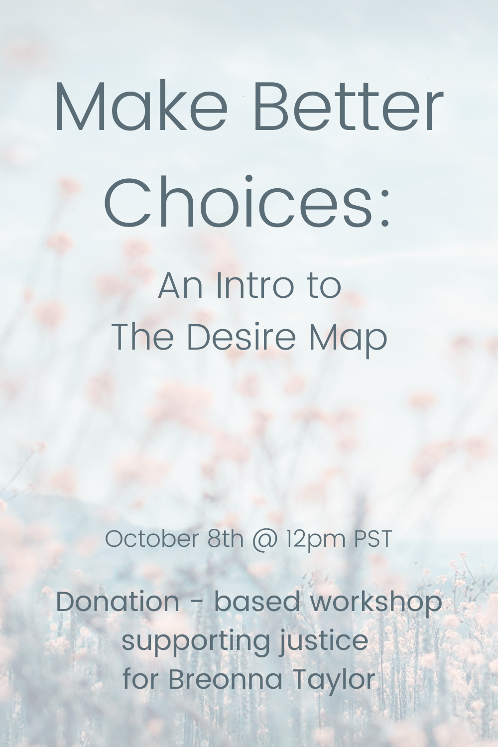 Make Better Choices Intro To The Desire Map The Desire Map Make Good Choices Desire Map Planner