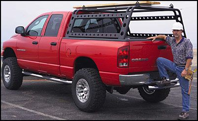 Xtreme Rack Deluxe From Go Rhino Is An Innovative Sports And Cargo Management System With A Cool Custom Look