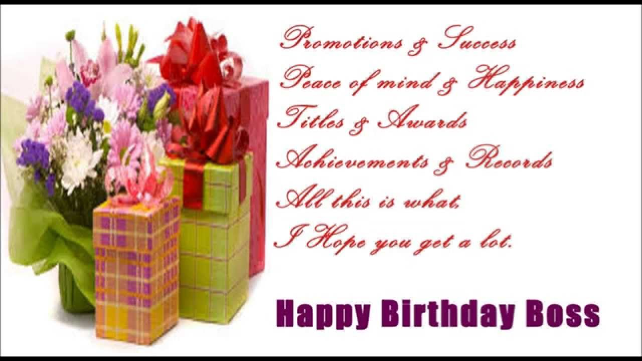Birthday wishes for boss birthday messages images and quotes birthday messages kristyandbryce Images