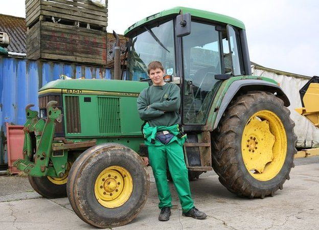 What's the appeal of playing 'mundane' simulator games?Dale Chapman is 18 and lives in Helston in Cornwall. He works as an IT technician but has grown up living on a farm. He and his farming friends started playing Farm Simulator when they were at school.