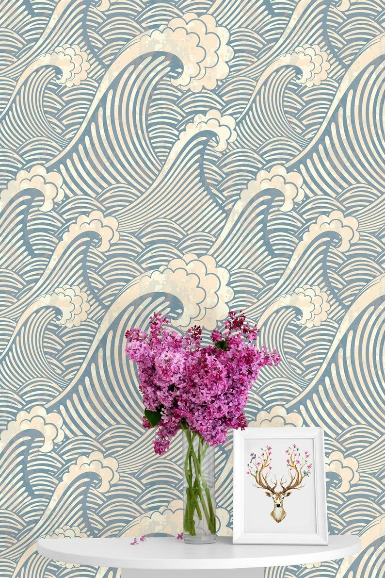 Pin On Hh Bedroom Nursery Mural Anthropologie Wallpaper Removable Wallpaper