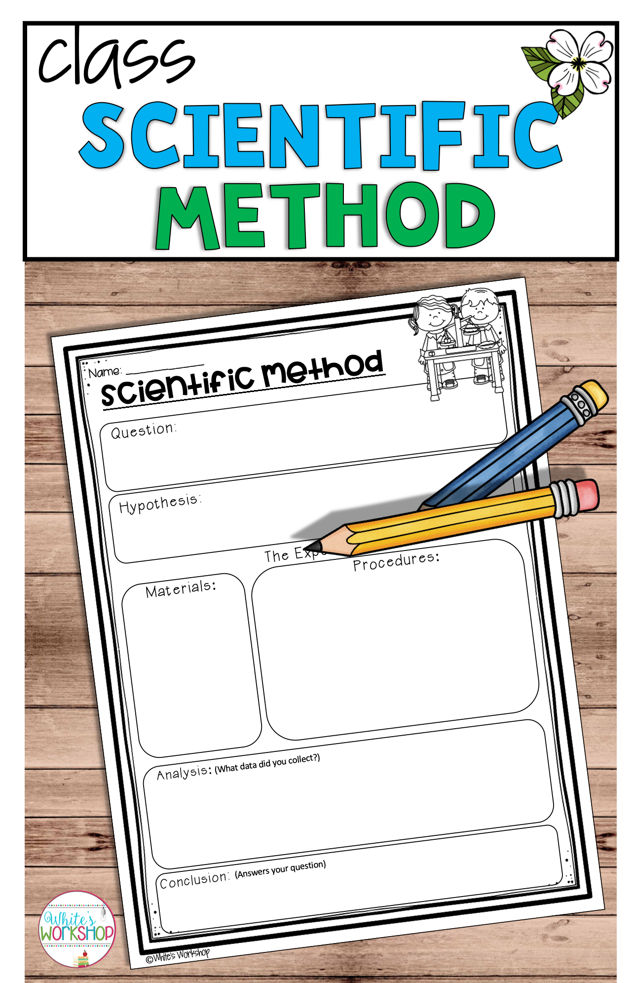 Scientific Method Posters And Worksheets