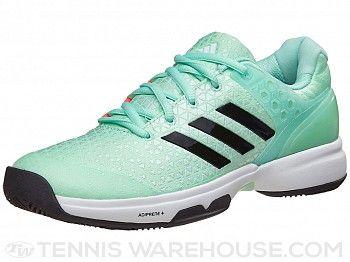 Adidas adizero ubersonic 2 Verde / BK zapatos de mujer equipo de tenis