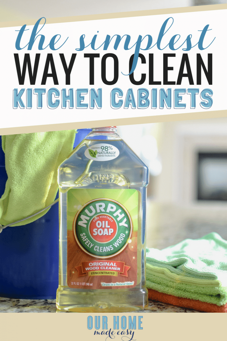Best The Simplest Way To Clean Kitchen Cabinets Clean Kitchen 400 x 300