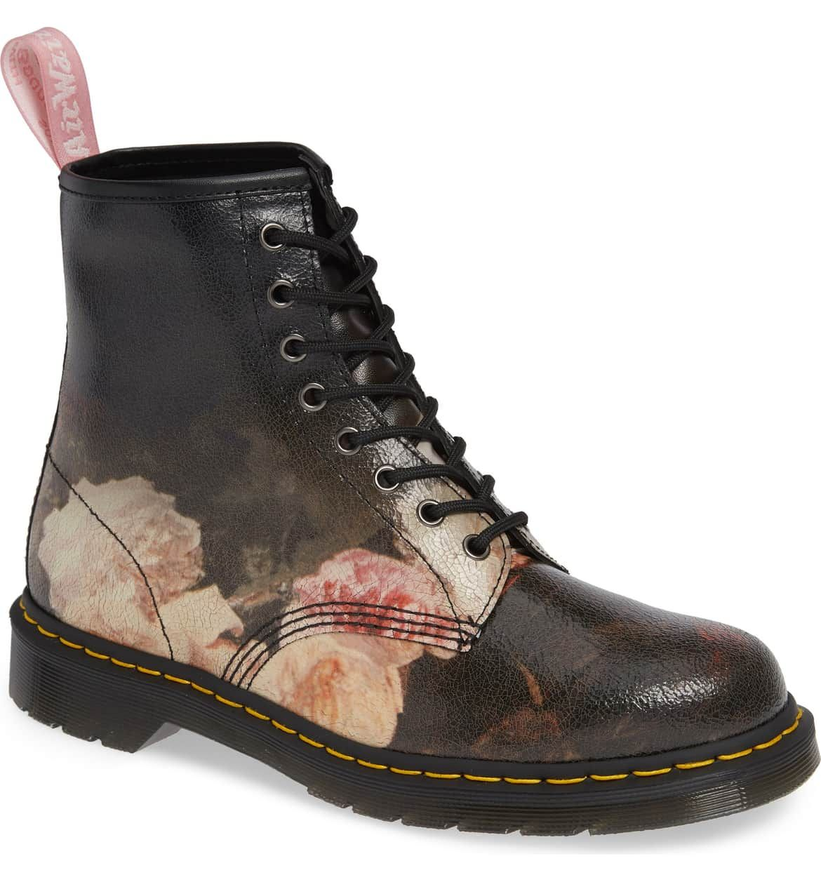 6ff008a734e3 1460 Power Floral Leather Boot