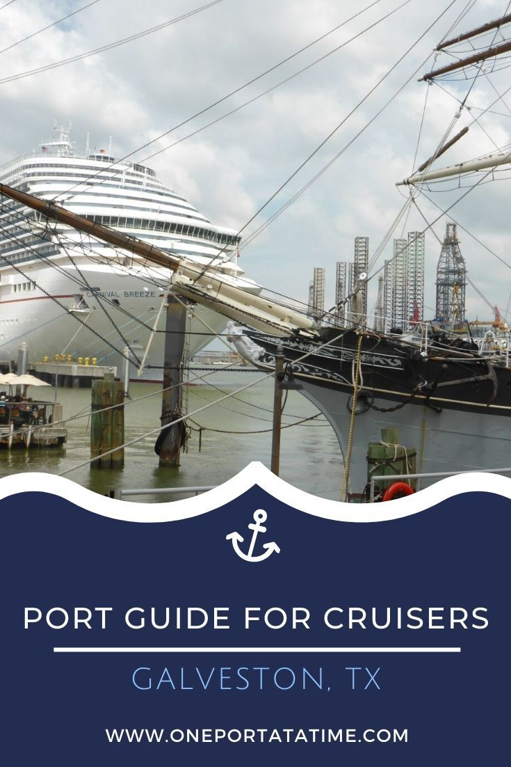 Everything you need to know when cruising from the port of Galveston, Texas. This cruise port guide includes terminal location, passenger and luggage drop off instructions, currency and other money matters, how to get around the city, weather forecasts, and events, dining, and shopping options near Galveston's cruise terminal.  #cruise #cruises #cruisetravel #cruising #cruiseportguide #Galveston #Texas #USA