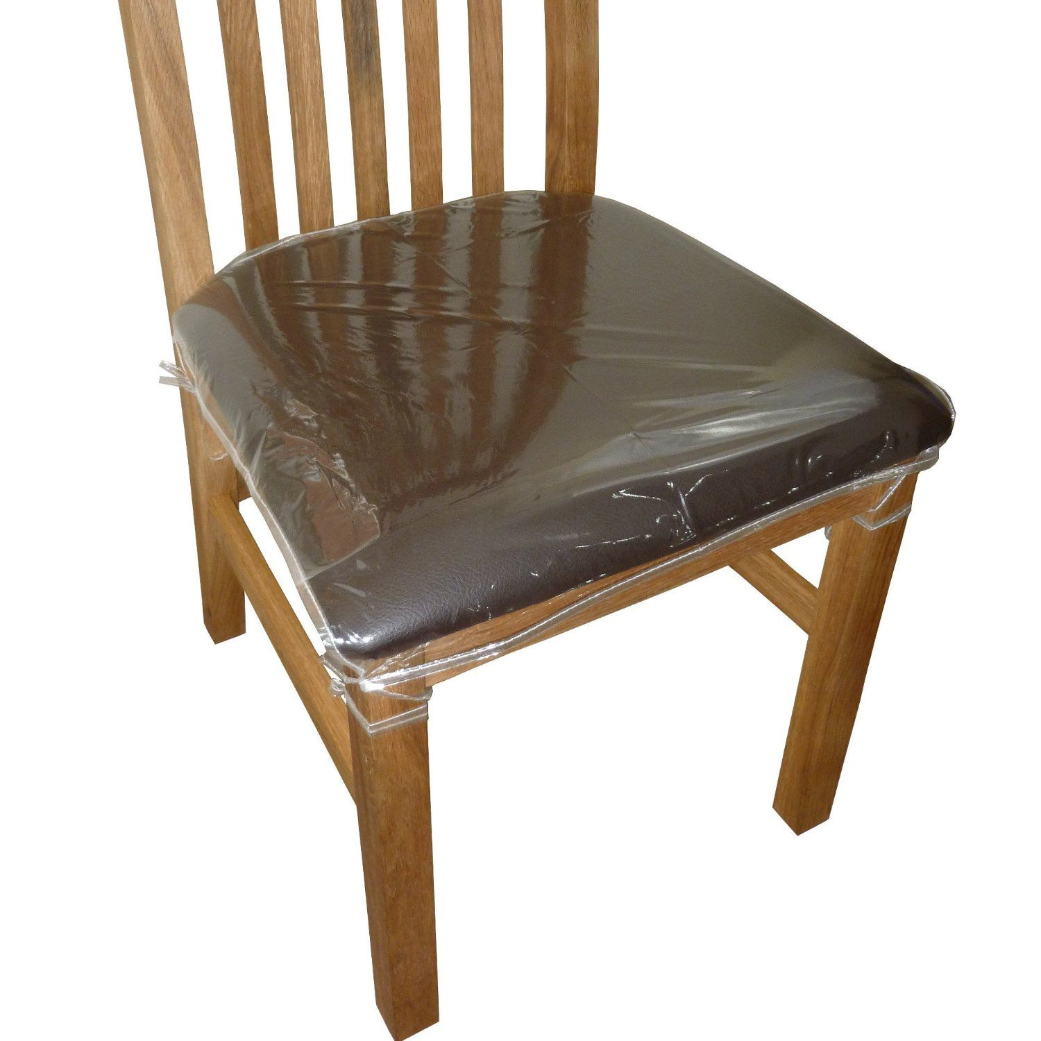 $16/6 Clear Plastic Dining Chair Seat Cushion Covers / Protectors: They Are  Approximately