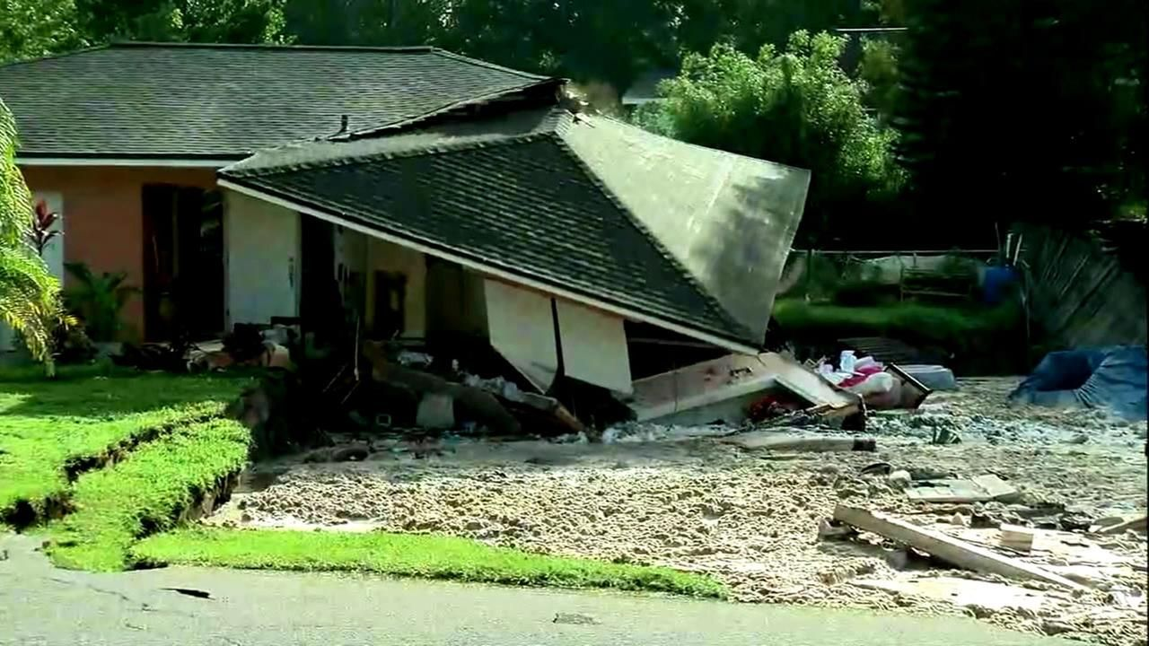 Cleanup planned after florida sinkhole swallows 2 homes