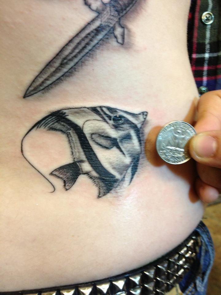 angel fish tattoo google search tattoos pinterest angel fish rh pinterest com angel fish tattoo meaning angelfish tattoo