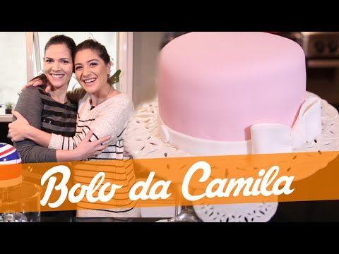 Bolo Da Camila Com Pasta Americana Receita Bake Off Brasil