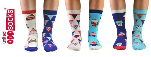 United Oddsocks Piece of Cake - Ladies Socks