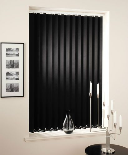 Details About Black Vertical Blinds Made To Measure