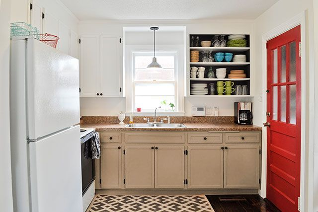 DIY Inexpensive Cabinet Updates   Kitchen cabinet remodel ...