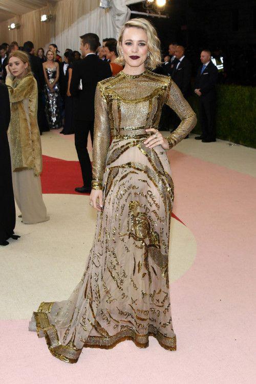 Rachel McAdams - 2016 Met Gala in NYC 5/2/16