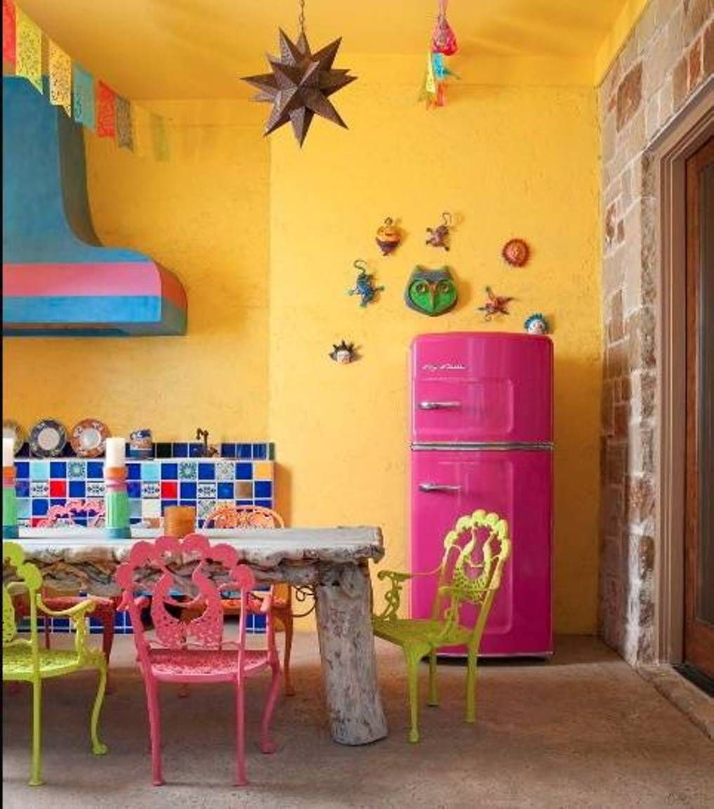 Home Designs And Decor , Mexican House Interior : Kitchen House ...