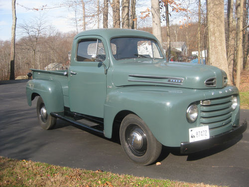 1949 Ford F1 Pick Up Truck Grandpa Green With Images American