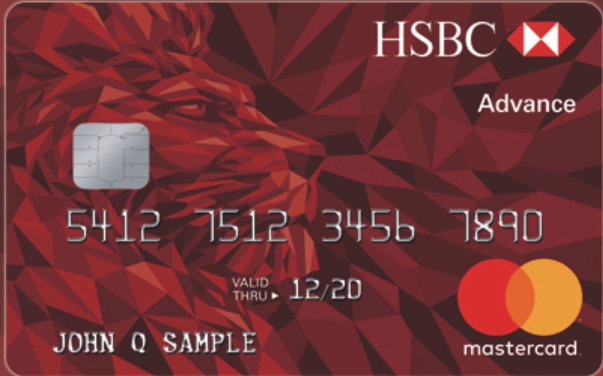 HSBC Advance Credit Card Login MasterCard Credit card