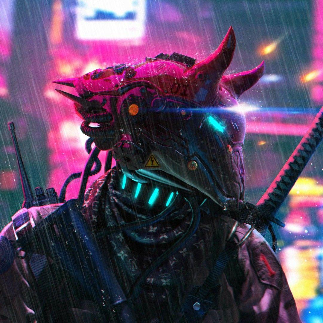 Pin By Pernille Jakobsen On Igrovye Arty Cyberpunk Aesthetic Samurai Wallpaper Cyberpunk