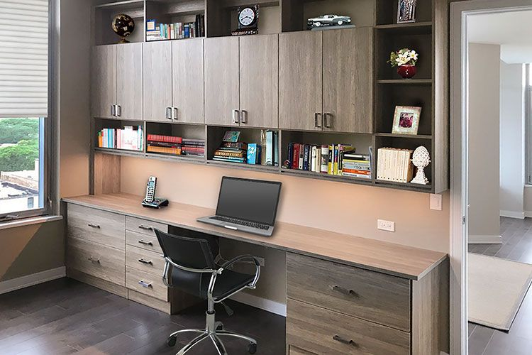 33 Awesome Office Storage Ideas Small Home Office Furniture Home Office Design Home Office Storage