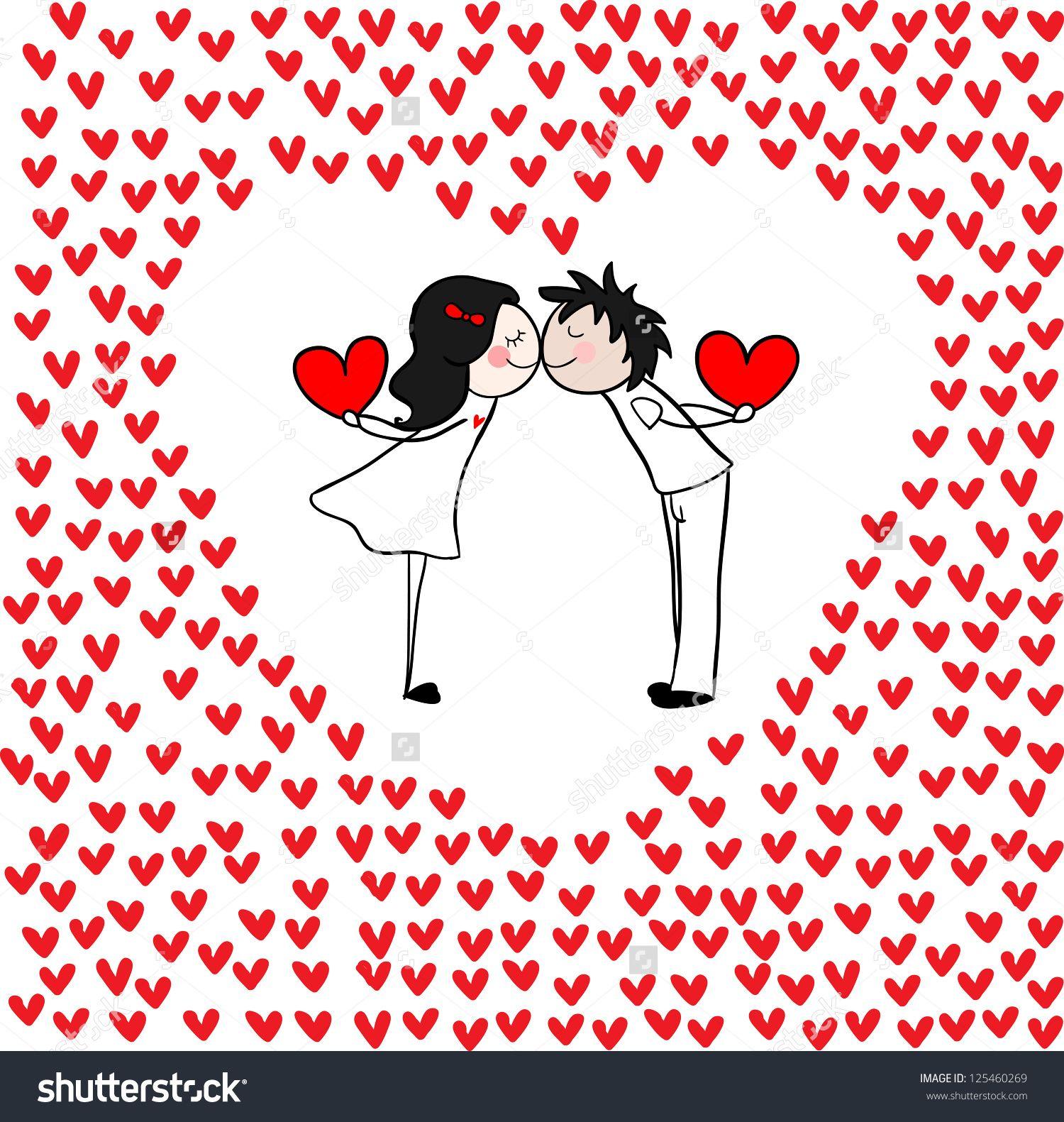 Couple Hugging Stock Vectors & Vector Clip Art   Shutterstock