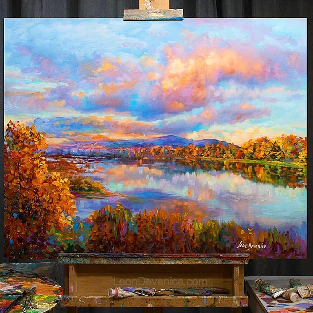 Paintings On Instagram Poetry In The Air Landscape Painting On Canvas 30 X Canvas Painting Landscape Landscape Paintings Acrylic Landscape Paintings