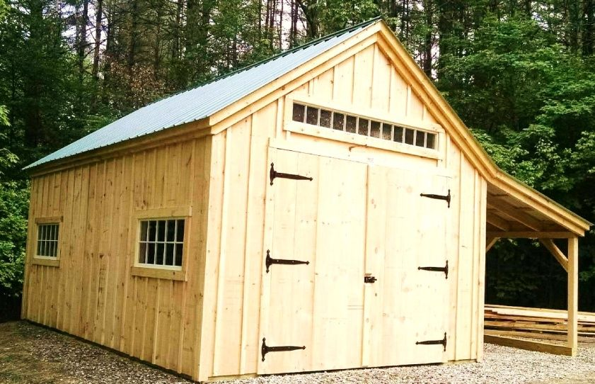 Build your own garage kits by jamaica cottage shop shed