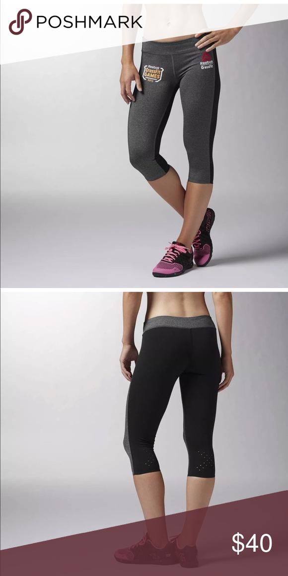 reebok capri joggers