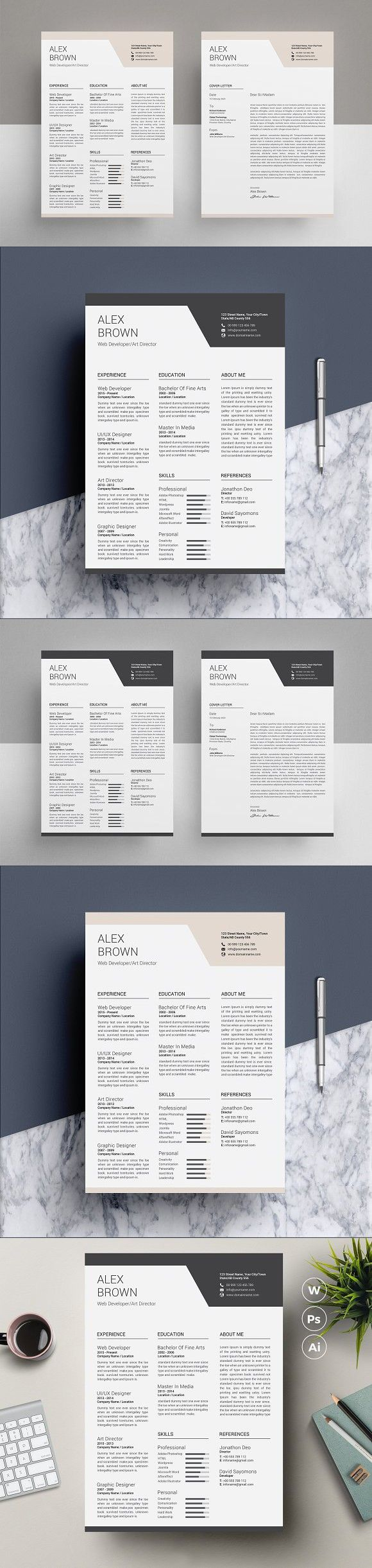 ResumeCV Template ResumeCV Resume Templates