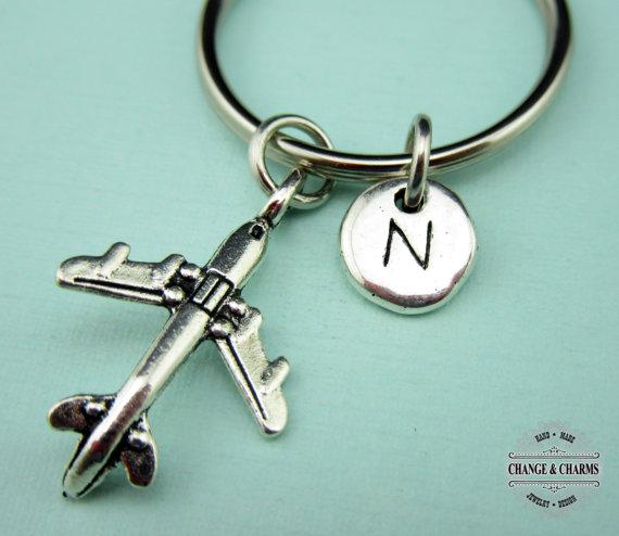 Nurse Key chainPersonalized Nurse KeychainPewterCaduceus Key Chain