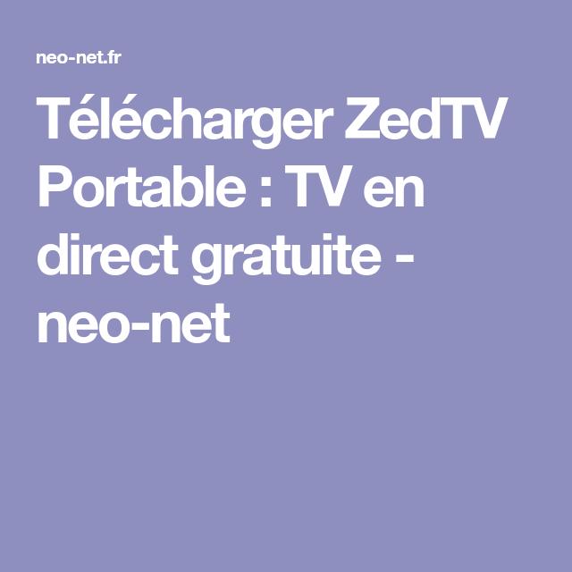 PORTABLE TÉLÉCHARGER ZEDTV