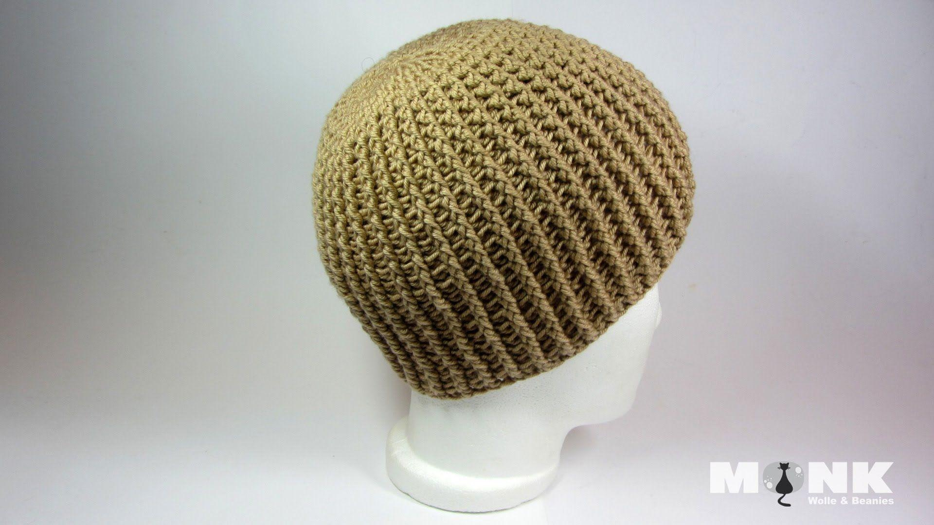 Ripped Beanie | Crochet Videos | Pinterest | Beanie mütze häkeln ...