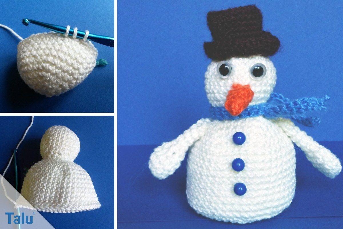 In dieser kostenlosen Anleitung zeigen wir, wie Sie einen Schneemann ...