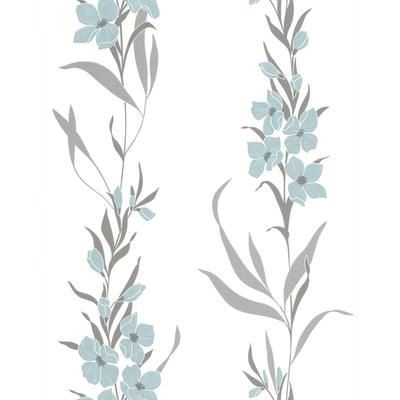 Superfresco Easy - Jardin Duck Egg Wallpaper - 32-435 - Home Depot Canada
