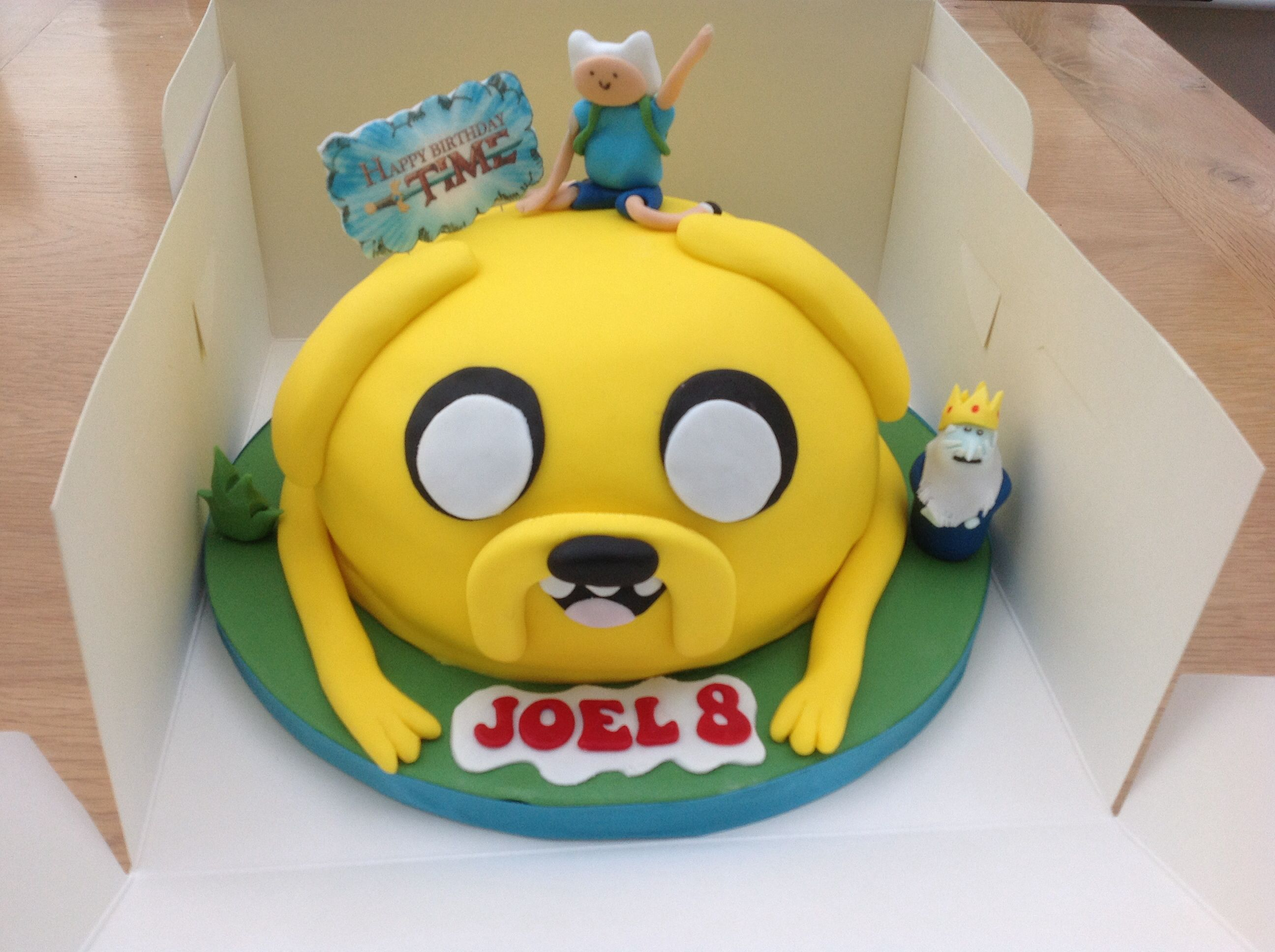 Fine Adventure Time With Finn And Jake Birthday Cake Design Based On Personalised Birthday Cards Epsylily Jamesorg
