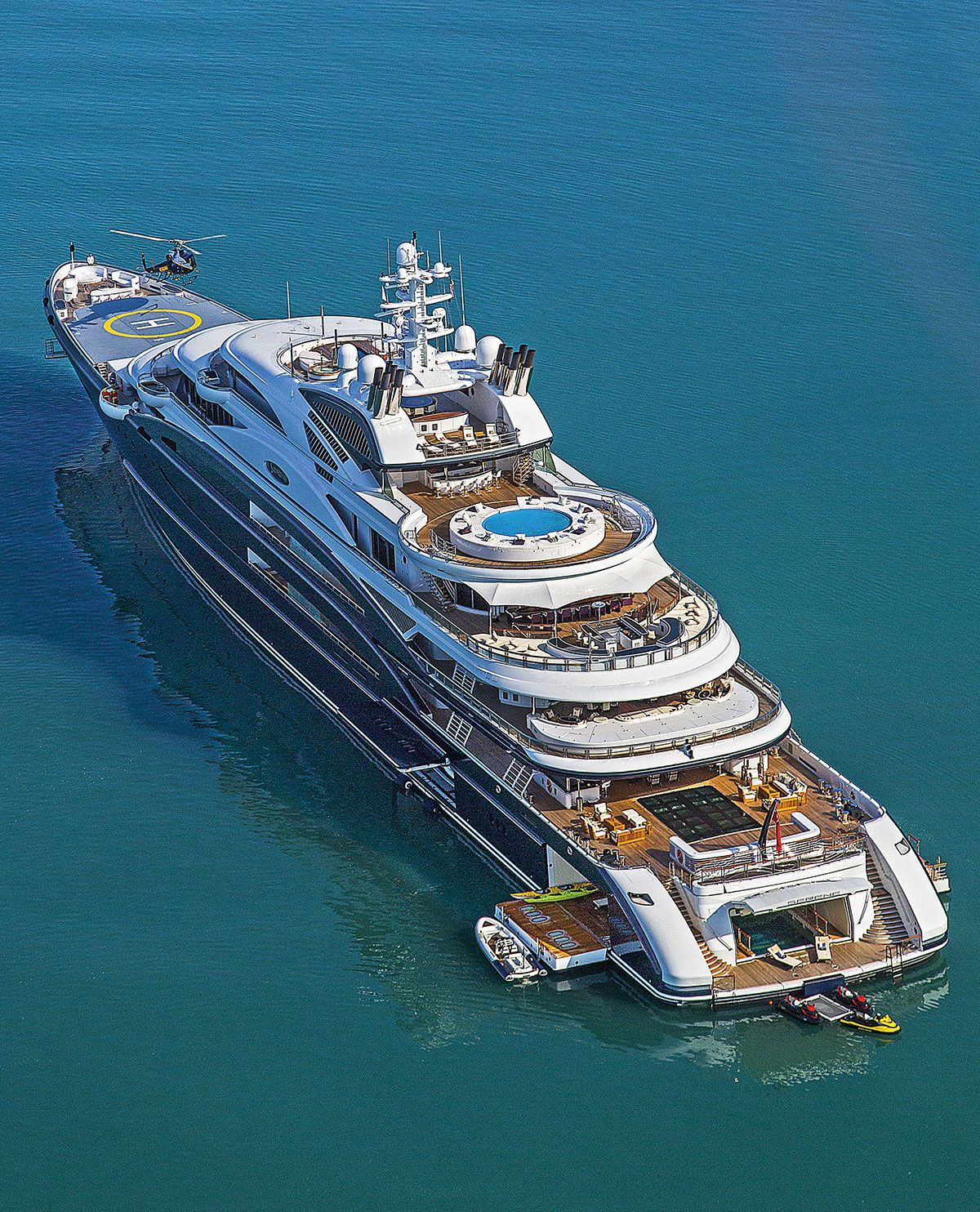 Inside The Largest Yacht Ever Sold Luxe Luxury Lifestyle Jetset