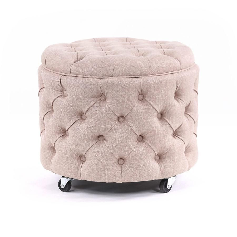 Emma Storage Ottoman Small Dusty Pink In 2020 Storage Ottoman Small Storage Ottoman Ottoman