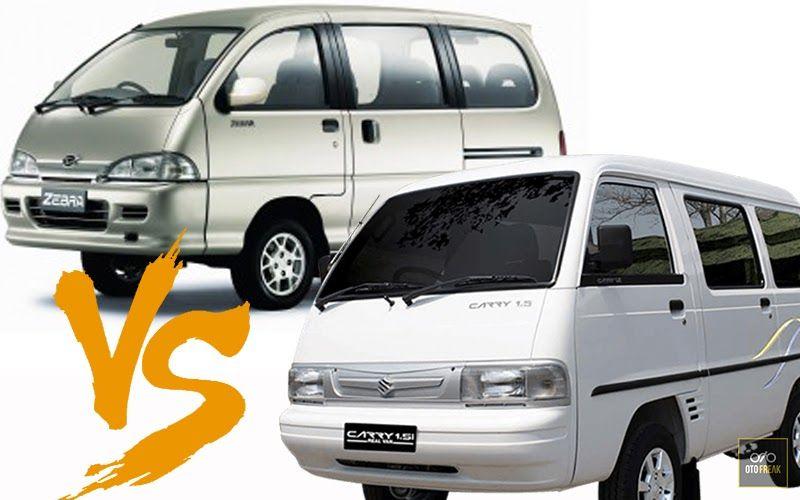 Daihatsu Zebra Vs Suzuki Carry Indonesia Review 2018 Otofreak Usai