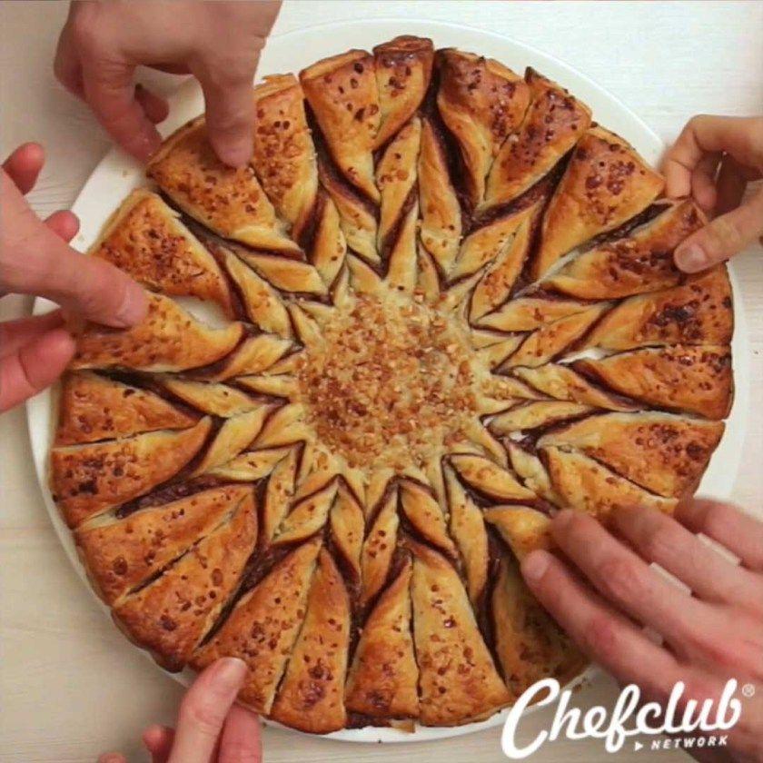 Tarte soleil nutella la recette de chefclub recettes chefclub pinterest nutella tartes - Pate feuilletee nutella soleil ...