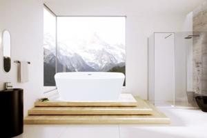 Vasca Da Bagno Troppo Lunga : Aquaplus cube xs vasca da bagno freestanding mm